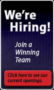 We are hiring, To learn more about our company or to inquire about job openings click here