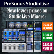 16x0x2 Performance and Recording Digital Mixer