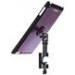 IPad® Snap-On™ Cover W/ Round Clamp, Purple