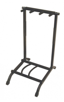 GS7361 - 3-Space Foldable Multi Guitar Rack