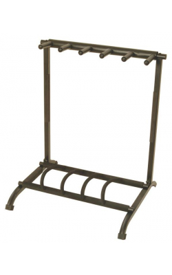 GS7561 - Five-Space Foldable Multi-Guitar Rack