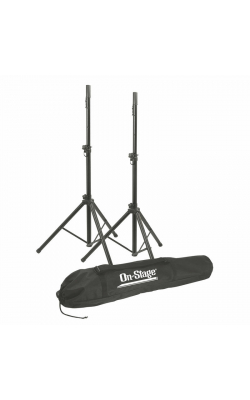 SSP7900 - All-Aluminum Speaker Stand Pak with Draw String Bag
