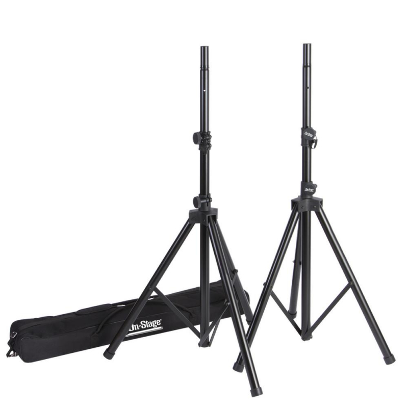 On-Stage - All-Aluminum Speaker Stand Pack - SSP9