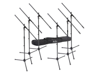 MSP7706 - 6 Euroboom Mic Stands w/Bag