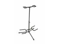 GS7221BD - Deluxe Folding Double Guitar Stand