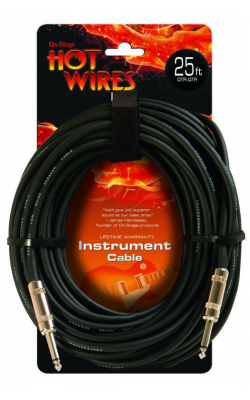 IC-25 - Instrument Cable (QTR-QTR, 25')