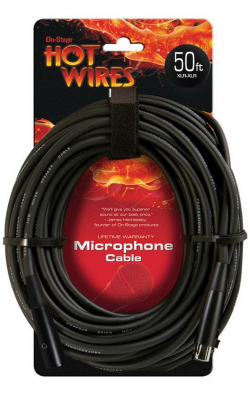 MC12-50 - Microphone Cable (50', XLR-XLR)