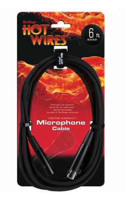 MC12-6 - Microphone Cable (6', XLR-XLR)