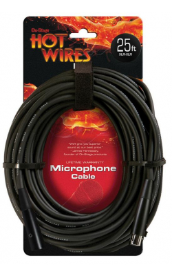 MC12-25HZ - Hi-Z Microphone Cable (25', XLR-QTR)