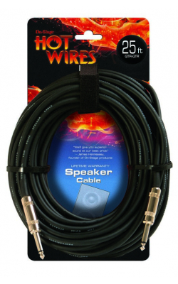 SP14-25 - 14AWG Speaker Cable (25', QTR-QTR)