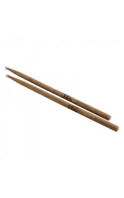 AHN5A - American Hickory Drum Sticks (5A, Nylon Tip, 12pr)