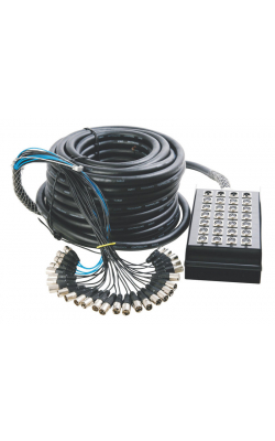 SNK24450 - In-Line Audio 24 x 4 Stage Snake (50')