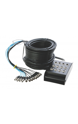 SNK8450 - In-Line Audio 8 x 4 Stage Snake (50')
