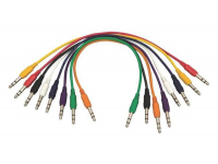 PC18-17TRS-S - Straight Patch Cables (TRS-TRS, 8-pack)