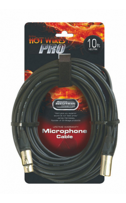 MC-10NN - Professional Mic Cable with Neutrik Connectors (10')