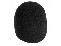 ASWS58-B - Foam Windscreen, Black