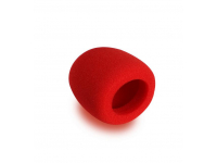 ASWS58-R - Foam Windscreen, Red