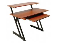 WS7500RB - WS7500 Series Wood Workstation (Rosewood/Black Steel)