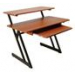 Wood Workstation (Rosewood / Black)
