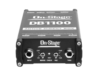 DB1100 - Active DI Box with Stereo-to-Mono Summing