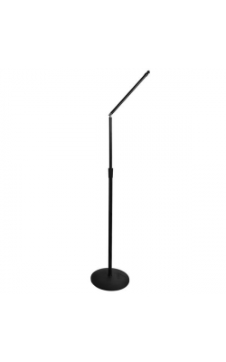 "MS8312 - Upper Rocker-Lug Mic Stand with 12"" Low-Profile Base"