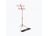SM7122RB - Compact Sheet Music Stand with Bag, Red