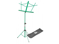 SM7122GRB - Compact Sheet Music Stand (Green, with Bag)