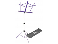 SM7122PB - Compact Sheet Music Stand (Purple, with Bag)