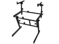 KS7365EJ - Pro Heavy-Duty Folding-Z Keyboard Stand w/ 2nd Tier
