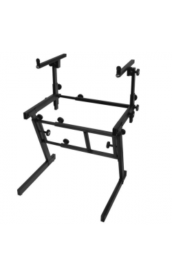 KS7365EJ - Folding-Z Keyboard Stand w/ 2nd Tier