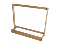 GS7565W - Guitar Case Rack, natural wood