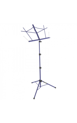 SM7222DBB - Tripod Base Sheet Music Stand (Dark Blue, w/ Bag)
