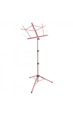 SM7222PKB - Tripod Base Sheet Music Stand (Pink, w/ Bag)
