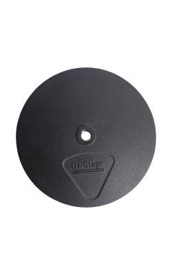 "BA1006 - 10"" Round Mic Stand Base with M20 Threading"