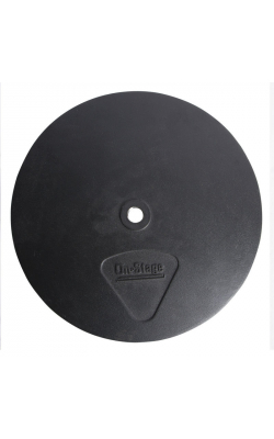 "BA1210 - 12"" Round Mic Stand Base with M20 Threading"
