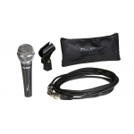 NEW Product - An excellent choice for miking vocal performances or public speaking engagements, our Wide-Range Dynamic Mic fe...