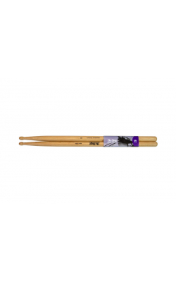 AMH2BW - American Made Hickory Drumsticks (2B, Wood Tip)