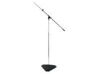 SMS7630C - Hex-Base Studio Stand w/ Telescoping Boom (Chrome)