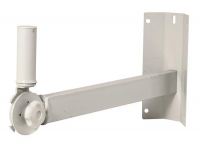 SS7321W - Corner Wall Mount Speaker Bracket, Ivory
