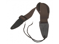 GSA10BR - Guitar Strap with Leather Ends (Brown)