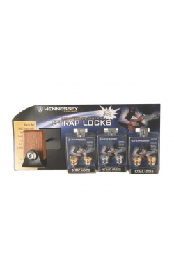 NSLD-1000 - Hennessey™Strap Lock Wall Display