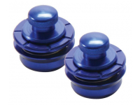 NSL7300BL - Metallics Series Strap Locks, Blue