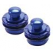 Metallics Series Strap Locks (Blue)