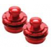 Metallics Series Strap Locks (Red)