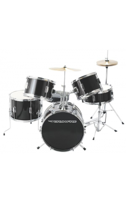 DKJ5500-GB - 5-Piece Junior Drum Set (Gloss Black)