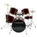 5-Piece Drum Set (Wine Red)