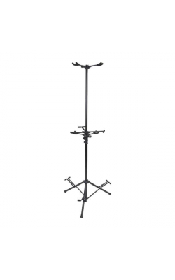 GS7652B - Six-Guitar Tripod Stand