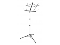SM7222B - Tubular Tripod Base Sheet Music Stand (Black)