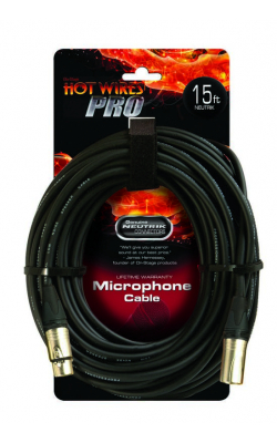 MC-15NN - Professional Mic Cable w/ Neutrik Connectors (15')
