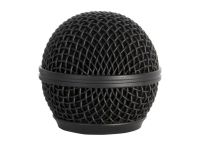 SP58B - Steel Mesh Mic Grille (Black)